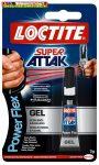 Pillanatragasztó gél, 3 g, HENKEL Loctite Super Attak PowerFlex Gel