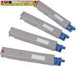 Oki C3600 Bk,C,M,Y  utángyártott tonerek Nagy kapacítású  2,5K/szín (oki c 3600)