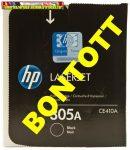 - BONTOTT- HP CE410A  305A eredeti LaserJet fekete tonerkazetta 2,2K
