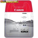 Canon PGI-520 Twin pack  Black eredeti tintapatron csomag ( 2db pgi-520) (PGI520,iP3600,iP4600,MP540,MP620,MP630,MP980)