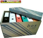 Fornax archiváló konténer iratrendezőhöz ( 522mmx351mmx305mm)( 6db iratrendezőhöz, külön záró fedéllel)