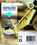 Epson 16  T1622 cyan eredeti tintapatron C13 T16224010 3,1ml