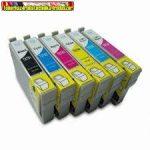 Epson T0791,T0792,T0793,T0794,T0795,T0796 utángyártott tintapatronok