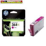 Hp CB324EE No 364XL bíbor tintapatron Vivera tintával Photosmart D5445, D5460, D7560, C5380, C6380, B8850 nyomtatókhoz (750 old.)