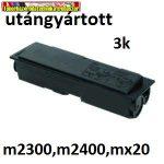 Epson Aculaser M2300 ,M2400 , mx20 fekete utángyártott toner, 3K (S050583,S050585)