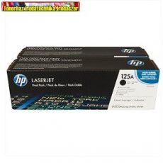 Eredeti Hp CB540AD DUPLAPACK toner black (Fekete festékkazetta Color Laserjet CP1215 / CP1515 / 1518 / CM1312 nyomtatókhoz)  ( 2200 old.)