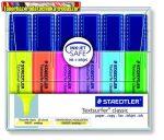 STAEDTLER Szövegkiemelő készlet, 1-5 mm,  6 különböző szín