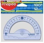 MAPED Geometric Szögmérő, műanyag, 180°,