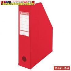 ESSELTE Vivida Iratpapucs, PP/karton, 100 mm, összehajtható,