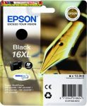 Epson 16XL  T1631 black eredeti tintapatron c13 T16314010 12,9ml