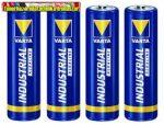 VARTA Industrial Elem ceruza AA  alkáli LR6 4db/cs fóliás, db-ár