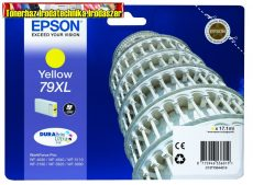 Epson  79XL  yellow eredeti tintapatron T7904(17,1ml)