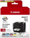 Canon PGI2500XL Multipack (Bk,C,M,Y) EREDETI (PGI-2500,PGI 2500)