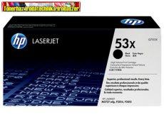Eredeti Hp Q7553X toner  ( Nagykapacitású fekete festékkazetta Laserjet P2014 / P2015 / M2727 sorozatú nyomtatókhoz (7000 old.)