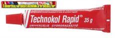 Technokol rapid 35gr piros tubusos ragasztó