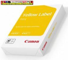 Canon Yellow label Standard A/4 80gr fénymásolópapír 1csomag  500ív/cs (CANON COPY)(CIE 146)