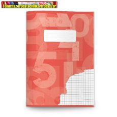 Füzet A/5 32 lapos  27-32 négyzethálós (kockás) PD.