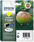 Epson T1294 eredeti yellow tintapatron 7ml