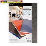 Fornax bőrhatású Hátlap matt fekete A/4 100 lap/cs 250gr.