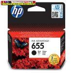 HP 655 CZ109AE No.655 fekete eredeti tintapatron DJ Ink Adv. 3525 5525 4615 4625 (550 old.) (CZ109AE)