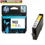 Hp 903 eredeti T6L95AE yellow tintapatron 315 old(5%)