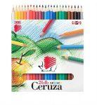 ICO süni színes ceruza 24-es hatszögletű