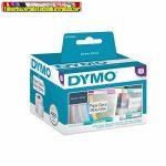Dymo LW etikett 11354,  57x32mm 1000db/tek, fehér
