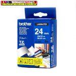 Brother TZ szalagok, TZ-555 kék/fehér  24mm (TZe-555)