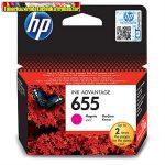 HP 655 CZ111AE No.655 Magenta eredeti tintapatron DJ Ink Adv. 3525 5525 4615 4625 (600 old.)CZ111AE