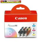 Canon CLI-8 multipack (C,M,Y)  eredeti tintapatron (CLI8,CLI 8)